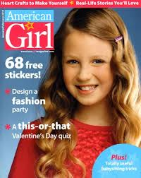 American Girl Magazine January February 2006 Valentines Animal Crafts Slumber